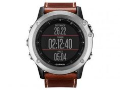 Relógio Monitor Cardíaco Multiesporte Garmin - Fenix Saphira Resistente à Água 010-01338-61