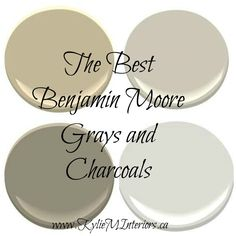 The Best Benjamin Moore Paint Colours - Grays (Including Grays with Undertones thank you very much)