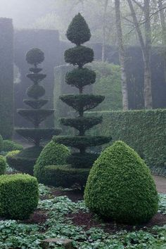 5 Industrious Tips AND Tricks: Country Garden Landscaping Lavender flower garden landscaping how to build.Contemporary Garden Landscaping Hedges garden landscaping with stones flagstone path. Topiary Garden, Garden Art, Cut Garden, Formal Gardens, Outdoor Gardens, Modern Gardens, Japanese Gardens, Small Gardens, Formal Garden Design