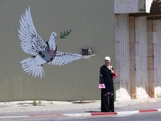 """""""The greatest crimes in the world are not committed by people breaking the rules but by people following the rules. It's people who follow orders that drop bombs and massacre villages"""" - Banksy"""