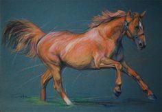 Andalusian horse breed Portrait  Pura Raza by PETARTPortraits, $25.00