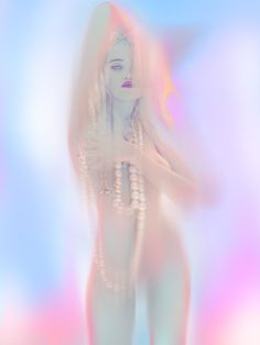"""Sky Ferreira by Nick Knight for AnOther Magazine — """"faeries express the hidden, vibrant life of the natural world."""" ~ Brian Froud"""