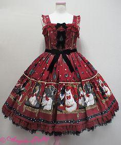 Angelic Pretty Princess Catティアードジャンパースカート