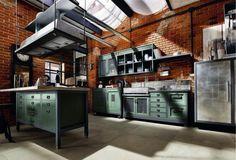 cucina industrial chic - Cerca con Google
