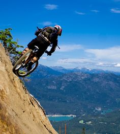 Mountain. Bike. Mountain bike.