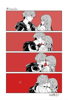 Image shared by LoveEpic. Find images and videos about comic, Mc and mystic messenger on We Heart It - the app to get lost in what you love. Mystic Messenger Characters, Mystic Messenger Fanart, Mystic Messenger Memes, 707 Mystic Messenger, Manga Couple, Anime Love Couple, Anime Couples Manga, Anime Couples Hugging, Anime Bisou