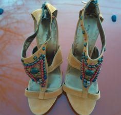 nine west wemans high heel shoes 8 1/2 #ninewest #Stilettos #casual