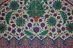 Turkish. Istanbul tile.