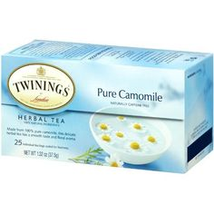 Twinings Herbal Tea Pure Chamomile  25 Tea Bags ** Learn more by visiting the image link. (This is an affiliate link and I receive a commission for the sales)