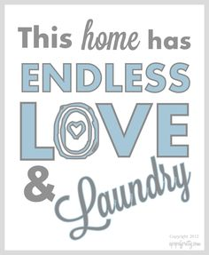 Free Printable Art for the Laundry Room