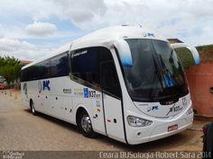 Ônibus da empresa JMC Transportes, carro 017, carroceria Irizar i6 370, chassi Volvo B340R. Foto na cidade de Canindé-CE por Ceará BUSologia-Robert Sara 2014, publicada em 30/12/2014 19:07:34.