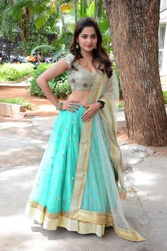 Anagha stills in half saree Pretty Beautiful Girl, Beautiful Girl Indian, Most Beautiful Indian Actress, Beautiful Saree, Beautiful Bollywood Actress, Beautiful Actresses, Half Saree Lehenga, Desi Girl Image, Indian Skirt