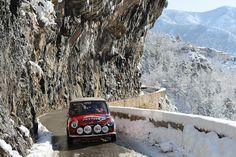 Mini Cooper, Bill Richards & John Morrow, 2012 Monte Carlo Rallye Historique
