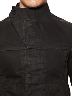 Coated Denim Jacket by DRKSHDW by Rick Owens at Gilt