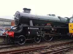 LMS 'Jubilee' 45596 Bahamas at RailFest, National Railway Museum (08/06/2012) | Flickr - Photo Sharing!