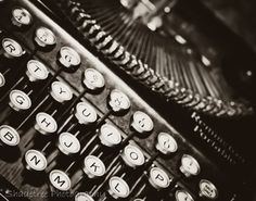 Vintage Typewriter Remington Office Decor by ShadetreePhotography, $40.00
