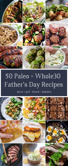 This Father's Day, show dad what a badass he is with. Oh, and bacon and stuff. You know, paleo Father's Day classics! I've put together dozens of my favorite paleo Father's Day recipes that Grilling Recipes, Paleo Recipes, Real Food Recipes, Dude Food, A Food, Healthy Side Dishes, Side Dish Recipes, Food Journal, Roasted Sweet Potatoes