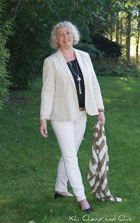 XL Cheap & Chic: Neliöhuivi kahdella tavalla ja yksi työasu- Square scarf in two ways and one outfit...