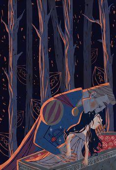 A Royal Fetish by Mai K. Nguyen, via Behance