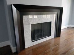Top 70 Best Modern Fireplace Design Ideas - Luxury Interiors Discover the joy of a good old-fashioned fire with the top 70 best modern fireplace design ideas. Explore luxury built-in features for your home interior. Modern Fireplace Mantles, Concrete Fireplace, Marble Fireplaces, Fireplace Surrounds, Fireplace Ideas, Fireplace Makeovers, Modern Fireplaces, Fireplace Outdoor, Trendy Tree