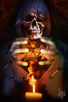 DeviantArt is the world's largest online social community for artists and art enthusiasts, allowing people to connect through the creation and sharing of art. Skull Pictures, Dark Pictures, Skull Artwork, Skull Painting, Dark Fantasy Art, Dark Art, Skull Reference, Dark Souls Art, Macabre Art