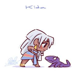 Chibi Kida by David Gilson https://www.facebook.com/artofdavidgilson/ Atlantis