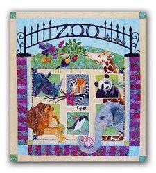 Zoo it Yourself Batik Quilt Kit