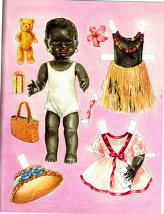 Vintage paper doll set...Please save this pin. Because for vintage collectibles - Click on the following link!.. http://www.ebay.com/usr/prestige_online                                                                                                                                                                                 Mais