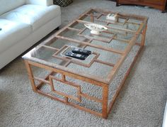"This figured maple coffee table is 4' X 5""  and is finished in Hand rubbed oil finish with a glass top. it is a great piece for any living room to order yours email me at a.woodworks@hotmail.com"
