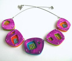 Refreshing necklace by Charuau Céline, via Flickr