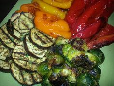 roasting and grilling boasts so much more flavor that steaming! meal prep for the week!