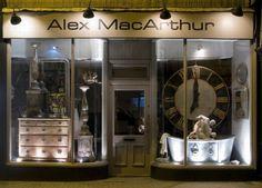 Alex MacArthur antiques