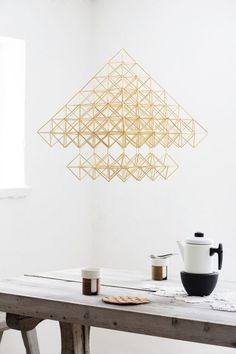 Crafts For Teens, Diy And Crafts, Straw Sculpture, Deco Wedding Invitations, Mood And Tone, Mobile Art, Scandinavian Christmas, Diy Art, Diy Projects
