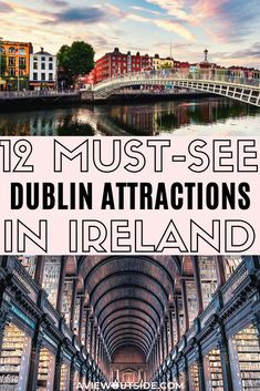 FREE Dublin Attractions That You Need To Know About! FREE Dublin Attractions That You Need To Know About! Must-see Dublin attractions that are completely free, unique and quirky! Amsterdam Travel Guide, Dublin Travel, Paris Travel, Book Of Kells, Emerald Isle, Dublin Attractions, Dublin Things To Do, Visit Dublin, Ireland Travel Guide