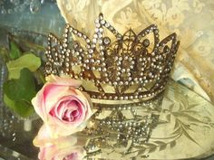 Vintage French Santo's Paris Crown 1800s Replica by RomanceinParis