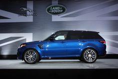 CUSTOM RANGE ROVER SPORT  | 2015 Land Rover Range Rover Sport SVR: Monterey 2014 Photo Gallery ...