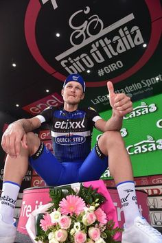 Matteo Trentin (Etixx-QuickStep) capped an excellent day of racing at the Giro d'Italia with a thrilling stage win in Pinerolo.