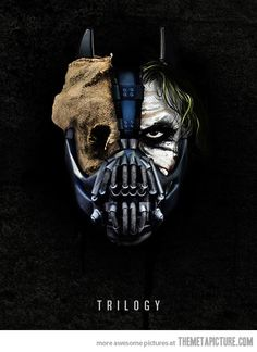 Joker Scarecrow Bane | Batman movie villians