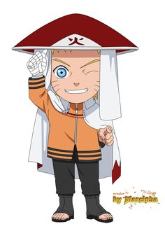 Chibi Naruto Hokage The Last by Marcinha20.deviantart.com on @DeviantArt
