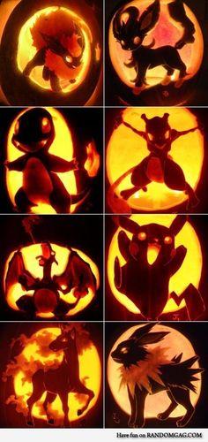 Awesome Pokemon Jack-o'-lantern