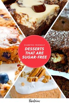 Having diabetes shouldn't mean you have to miss out on all the sweet treats everyone else is eating. Luckily, you don't have to, with the help of these 12 sugar-free desserts. #sugar #free #desserts Healthy Desserts, Healthy Cooking, Sugar Free Desserts, Diabetes, The Help, Sweet Treats, Favorite Recipes, Ethnic Recipes