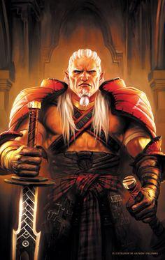 Sten became Arishok - Dragon Age