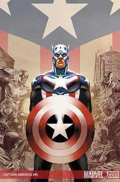 Captain America Cover: Captain America Marvel Comics Poster - 30 x 46 cm Marvel Comics, Ms Marvel, Marvel Heroes, Book Cover Art, Comic Book Covers, Comic Books Art, Comic Art, Book Art, Captain America Poster