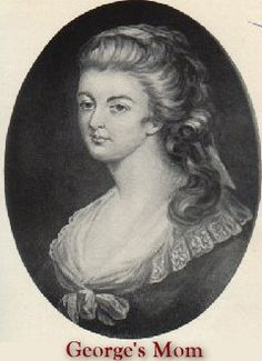 Mary Ball (Washington). Mother of George Washington. I am related in her paternal line.