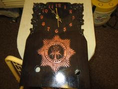 this is a special order clock for the S.A.P.S.