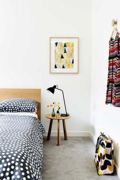 modern design - bedroom - photo derek swalwell