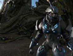 Halo 2 Anniversary Elite Jungle Render by TelemusCNT