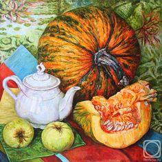 Шумилина Ирина. Тыква и яблоки