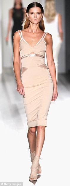 Liz says: My dress of the season - classy, sexy, understated and flattering. Expect a near £3,000 price tag and a waiting list