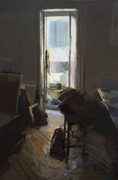 "Saatchi Art Artist Carlos San Millan; Painting, ""Interior #136"" #art"